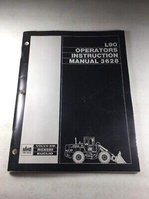 Michigan L90 Wheel Loader Operators Manual