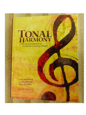 Tonal Harmony with an Introduction to 20th Century Music 7th Ed. Book