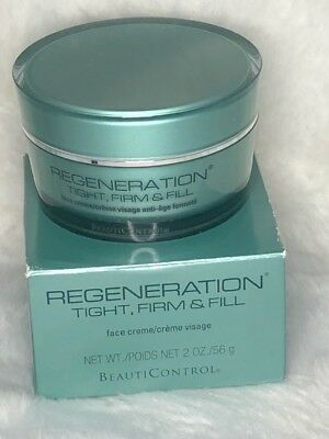 BeautiControl Regeneration Tight, Firm & Fill Face Creme 2 oz. LARGE Rare for sale  Shipping to India