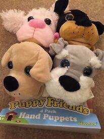 Brand New Puppet friends
