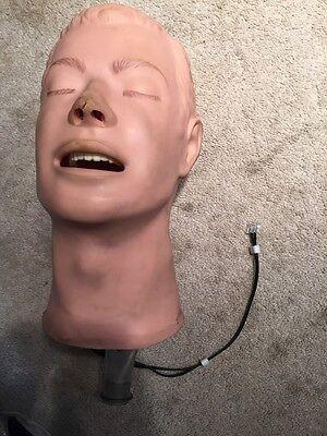 Laerdal Airway Management Manikin Head Intubation Training Simulator Als Cpr Emt