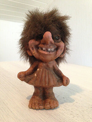 Original NyForm Troll Figur Nr. 115 Norwegen Gnom Fantasy Norway No. 115 Ny Form
