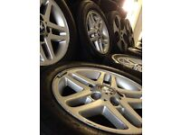 "15"" genuine bmw Alloys Wheels 3 1 Series Vw T5 Vauxhall Vivaro traffic 5x120"