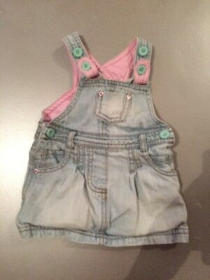 Marks & Spencers Baby Girls Dress 3-6 Months