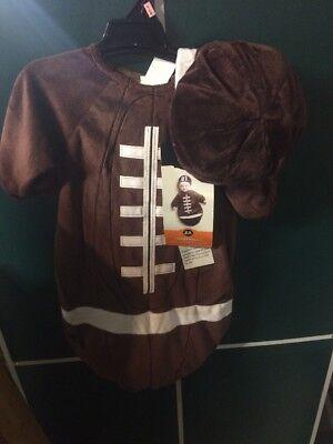Baby Bunting Football Halloween Costumes (Baby Football Halloween Costume 0-6 Months Bunting & Hat Hyde And Eek)