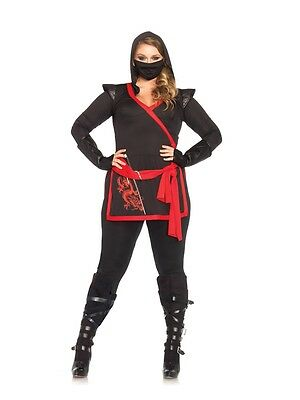 Sexy Ninja Assassin Adult Womens Plus Size (Sexy Kostüm Assassin)