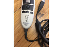 PHILIPS Speech Mike Classic LFH3220/00 Used Working