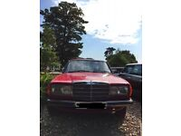 1983 Mercedes 200 (RED) - For Sale for £2500 (ONO) With Full Service History and MOT!