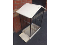 large 4ft bird cage with pull out draw for easy cleaning