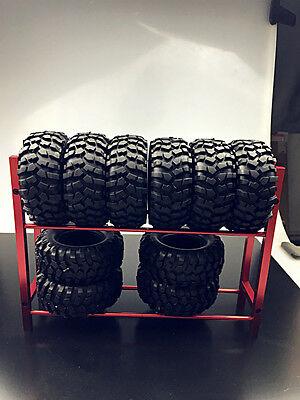 - RC Truck Tyre Rack for 1/10 Wheel Rims Beadlock Tire TRX-4 RC 4WD SCX10 D90 CC01