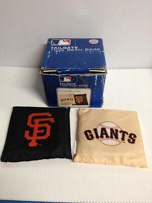 (San Francisco GIANTS MLB Original Offical Tailgate Toss Bean Bags Team Logo )