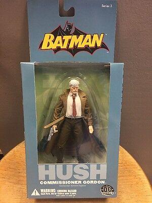 Commissioner Gordon Batman Hush DC Direct Action Figure NEW!!