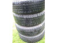 Subaru Alloy Wheels & Tyre's, Bridgestone Dueler 205/70 R15 96H
