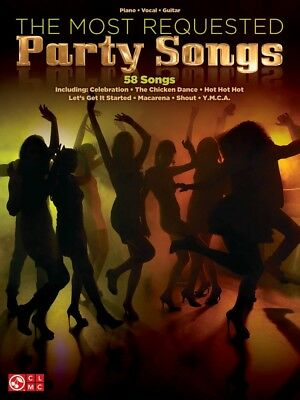 The Most Requested Party Songs Sheet Music Piano Vocal Guitar Book 000001576