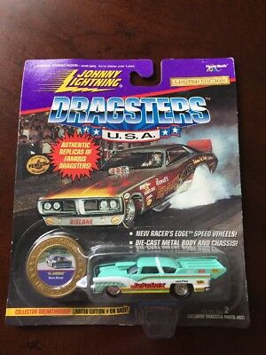 Johnny Lightning Dragsters U.S.A. '55 Jukebox 1:64,Diecast,MISP (B16)