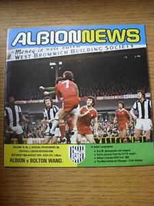 26-08-1978-West-Bromwich-Albion-v-Bolton-Wanderers-Item-has-no-apparent-faults