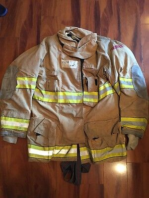 Firefighter Globe Turnout Bunker Coat 42x35 G-xtreme Halloween Costume