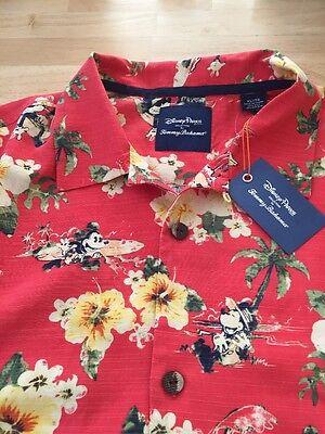 Brand new Disney Parks Tommy Bahama Mickey Mouse Men's Shirt, size XL
