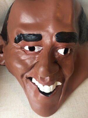 President Barack Obama Political Democrat Costume Mask Adult Halloween - Obama Halloween Costume