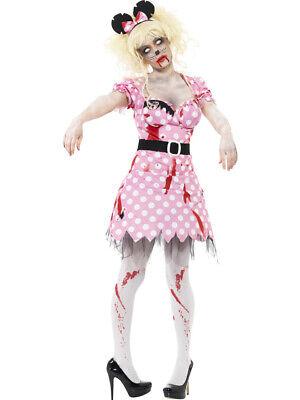 Zombie Maus Kostüm für Damen Halloween Horror Party - Kostüm Halloween Zombie