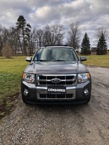 Limited edition Ford Escape xlt