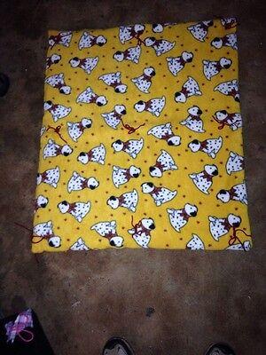 Dog Blankets Assorted Patterns Homemade All Fleece