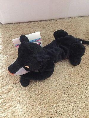 "Disney Store Mini Bean Bag Jungle Book BAGHEERA 8"" Stuffed Toy With Tag"