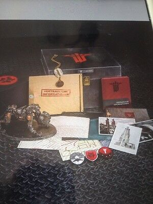 New! Wolfenstein: The New Order (Panzerhund Edition) Collector's SET/NEW SEALED