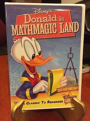 Donald In Mathmagic Land (1959) (DVD,2009) Mfg. Sealed