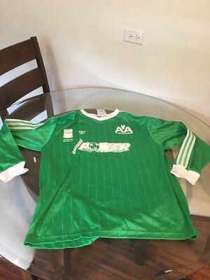 Vintage Chicago Power C. Mota Green Game Worn Jersey Adidas NPSL XL