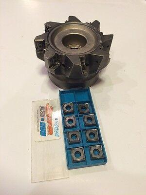New Ingersoll Cutting Tool- Face Mill- Dj6t 04 R01 Edp 3029299  8 Inserts