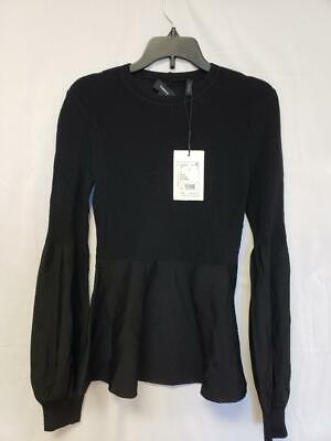 Theory Womens Top Black Size P