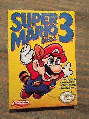 *NEW* Wonderful MARIO BROS. 3 NINTENDO ENTERTAINMENT SYSTEM, NES GAME Unsealed
