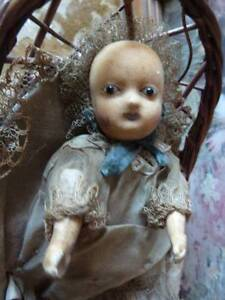 Mechanical Motschmann baby doll in pram - extremely rare Adelaide CBD Adelaide City Preview