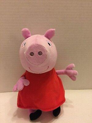 Fisher Price Hug N Oink Peppa Pig Plush Laughing Talking Giggles Mattel 2011