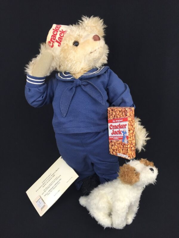 Crackerjack Teddy Bear Douglas Company Classics Fully Jointed Limited Ed 1800
