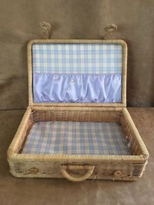 american girl doll bitty baby rattan suitcase
