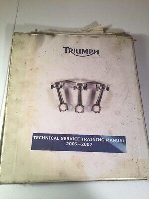 - Triumph Rocket III Technical Service Training Manual 2006-07 Specs Sagem Keihin