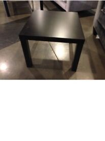 Ikea lack tables black x 2