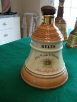 Autographed Bells decanter