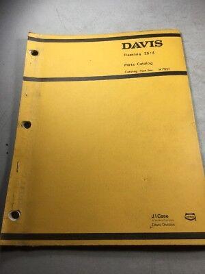 Davis Fleetline 25+4 Parts Catalog