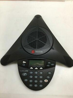 Polycom Sound Station 2W 2.4 GHz Wireless Conference Phone 2201-67880-022 2.4 Ghz Wireless Phone