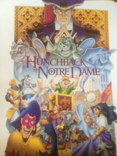 Disney Hunchback of Notre Dame Movie Poster NEW