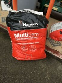 HANSON MULTICEM WATERPROOF BAG CEMENT - 2 x 25 kilo bags