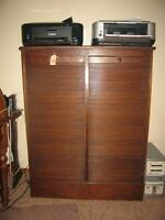 ANTIQUE FILING CABINETS & ANTIQUE LAYWER BOOK CASES