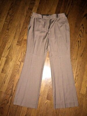 Eisen-polyester Hose (GEORGE Eisen POLYESTER COTTON Viscose WOOL WOMENS CASUAL DRESS PANTS SZ 14 Long)