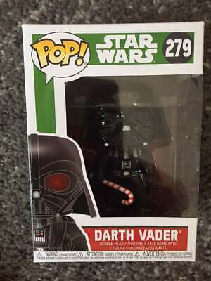 NEW Funko Pop Star Wars Christmas Darth Vader Candy Cane #279 Vinyl Figure
