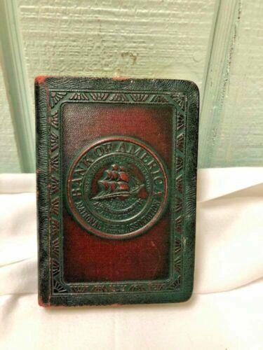 Vintage Metal Book Coin Bank/Key Investor