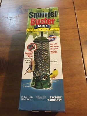 BROME SQUIRREL BUSTER MINI SQUIRREL PROOF WILD BIRD FEEDER