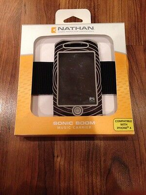 NEW Nathan Sonic Boom Music Carrier Armband for iPhone 4